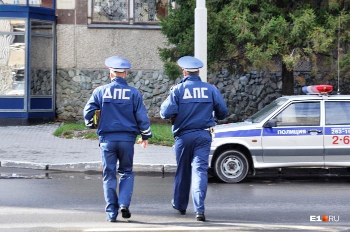 Сотрудник ГИБДД составлял протокол на брата Андрианова, чем привел его в бешенство