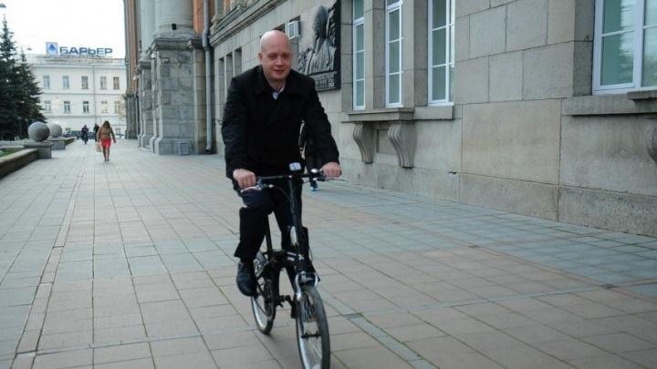В пятницу екатеринбургские чиновники поедут на работу на велосипедах