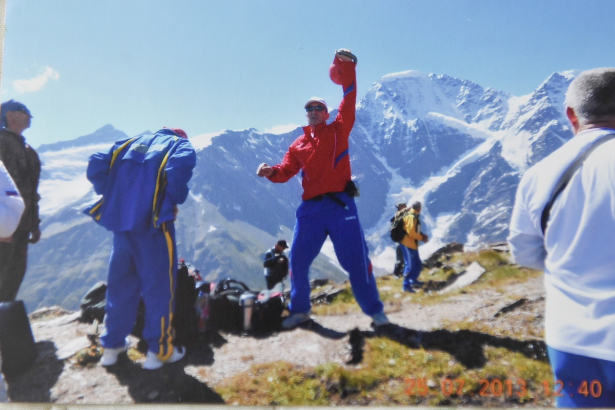 Чемпионат мира на Эльбрусе на высоте 4 800 метров, 2013 год