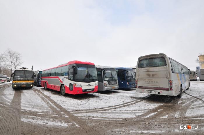 Автобусное сообщение, например, закроют между Екатеринбургом и Курганом
