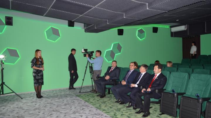 В башкирском городе открыли кинозал