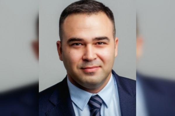 Евгений Панфёров— депутат Совета депутатов Новосибирска