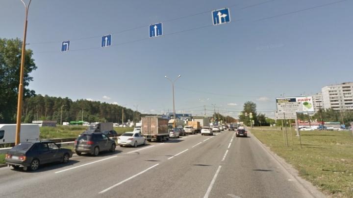 На Объездной упростили левый поворот на Амундсена, из-за которого водители часто нарушали правила