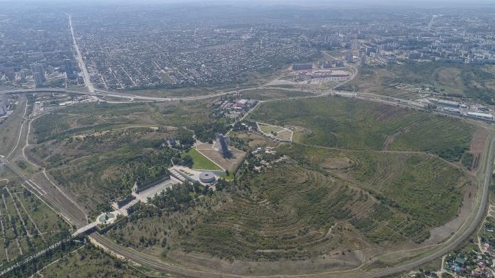 В Волгограде 350 гектаров Мамаева кургана превратят в тематическую лесопарковую зону