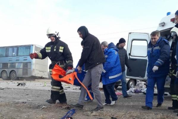 Спасатели были на месте ДТП одними из первых