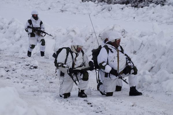 Армейцы будут отрабатывать боевые действия в маскировочной амуниции