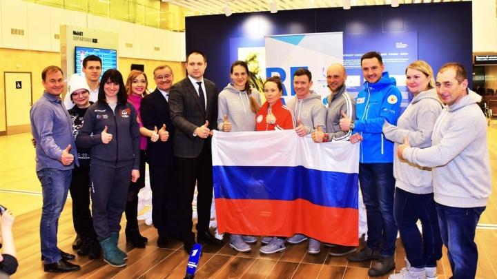 Расписание выступлений красноярских спортсменов на Олимпиаде в двух картинках