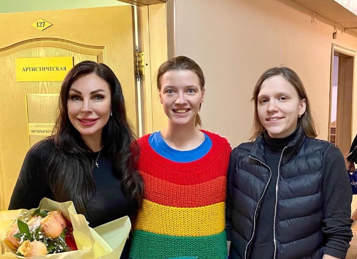 Наталья нашла время на встречу с поклонниками