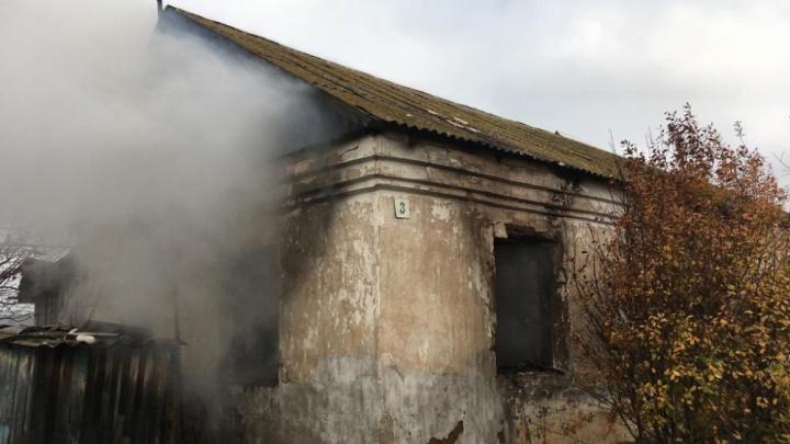 В Башкирии сгорел дом: погиб хозяин жилища
