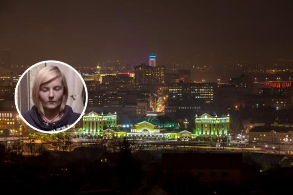 Девушка может находиться в Красноярске