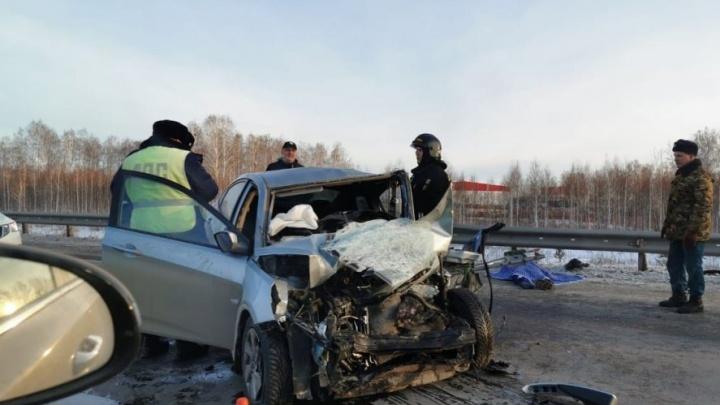 «На обочине лежало тело»: под Челябинском в смертельной аварии погибли двое