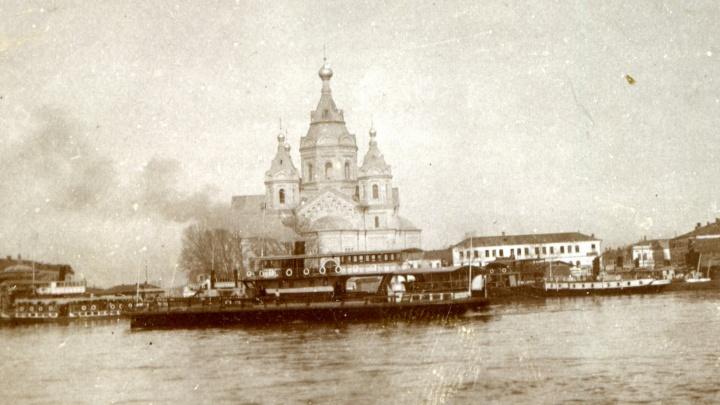 Инстаграм советской семьи. Каток в Кремле и небывалый паводок в Нижнем Новгороде