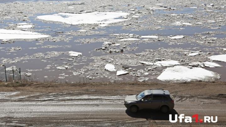Три реки в Башкирии вышли из берегов