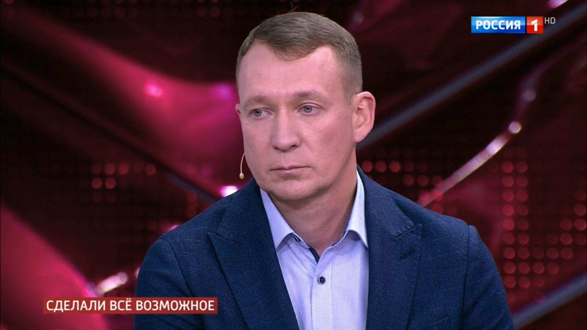 Врач Дмитрий Некрасов прилетел в Москву из Тюмени, чтобы рассказать, как проходило лечение и какие меры приняты