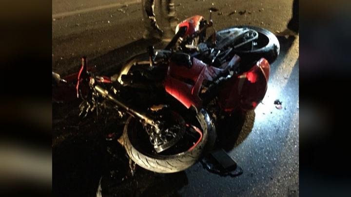 Не уступил дорогу: появились подробности аварии мотоцикла с такси в Уфе