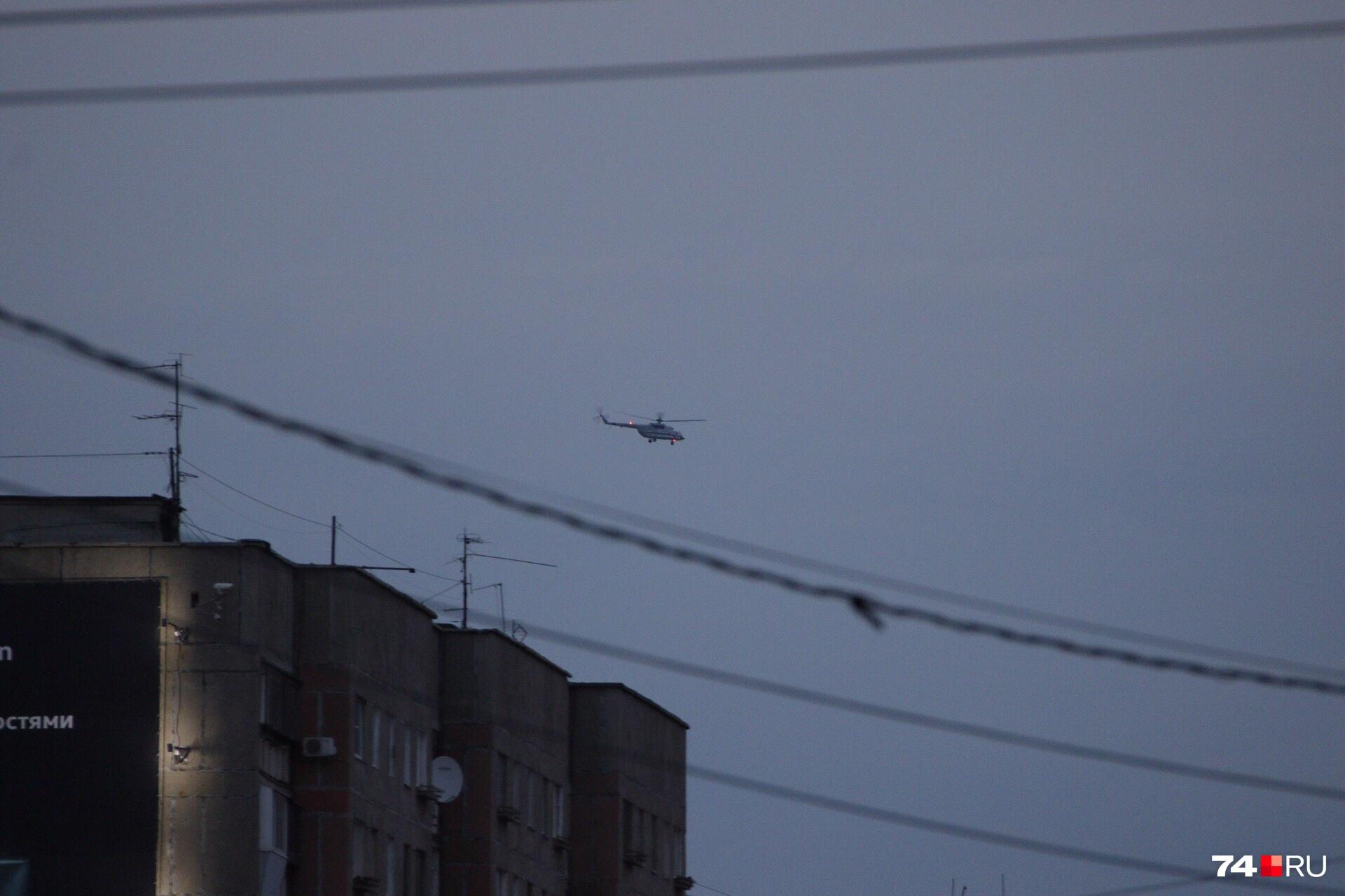 Путин снова всех удивил и прилетел в Магнитогорск на вертолете