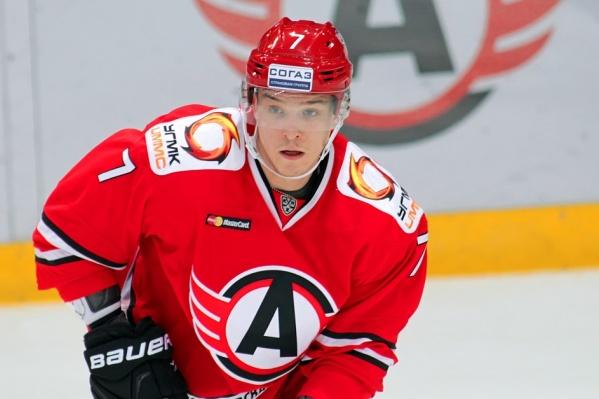 Николай Тимашов— воспитанник магнитогорской школы хоккея