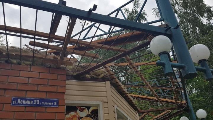 Что будет с разрушенным кафе «Ялта» в центре Кургана, решит суд