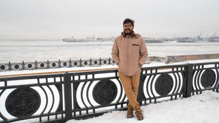 «Куплю еще несколько курток. На всякий случай»: впечатления Ника из Мумбая от холодного Архангельска