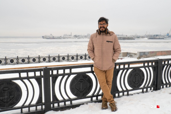 Ник побывал не только в Архангельске, но и в районах Поморья и посмотрел северную глубинку