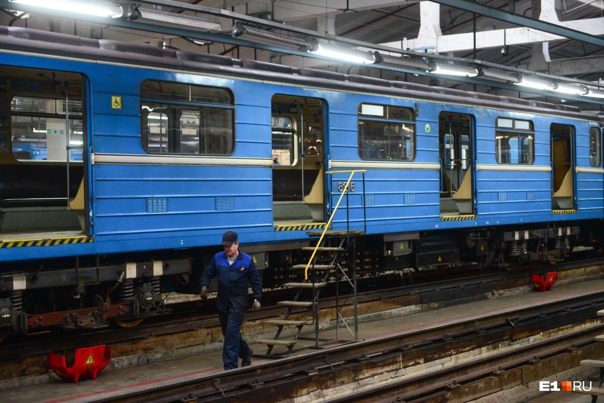 Один из обновленных поездов выйдет на линию уже в четверг