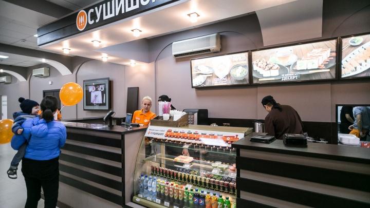 Питерская сеть открыла первый «СУШИШОП» в Новосибирске