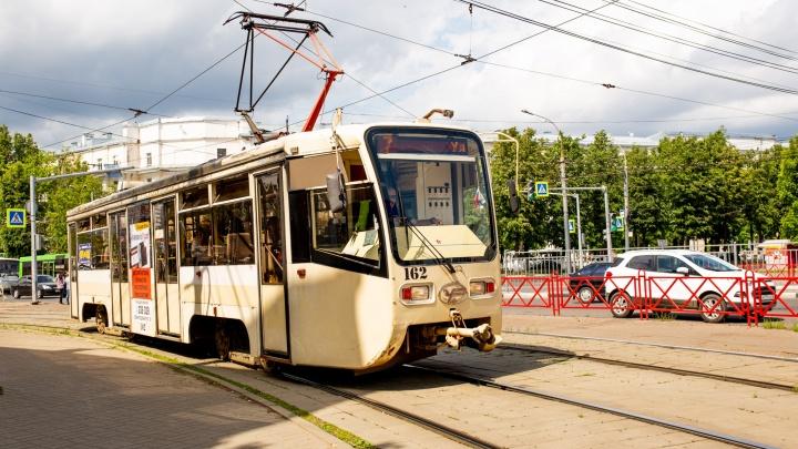 «Они поедут с понедельника»: в Ярославле запустят новый трамвайный маршрут