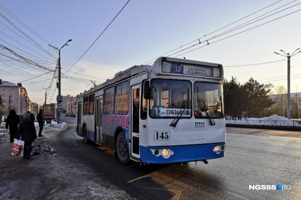 Теперь троллейбусы будут ездить до «Сибзавода»