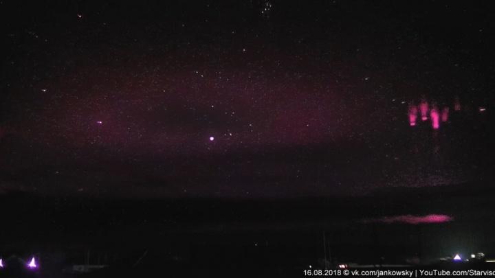 Спрайты, эльфы, полярное сияние: свердловский фотограф снял загадочные явления атмосферы