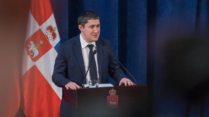 «Будем проверять»: Дмитрий Махонин сделал первый пост в Instagram на должности главы Прикамья