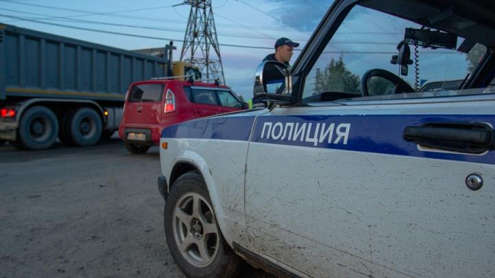 Водитель «Ниссана» в Калининском районе сбил женщину с собакой на поводке