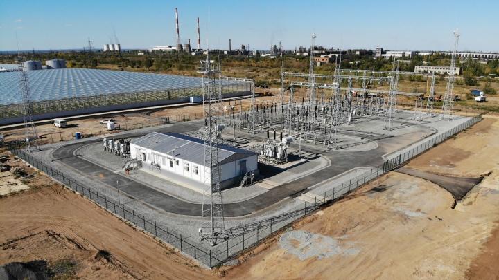 На территории тепличного комплекса «БОТАНИКА» появилась уникальная электроподстанция