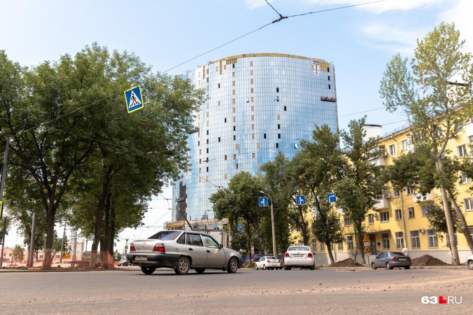 Здание должны достроить в 2019 году