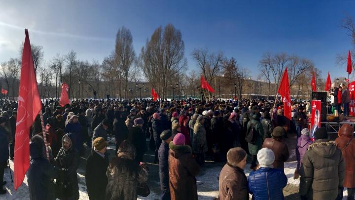 В Самаре согласовали акцию протеста против обнищания народа