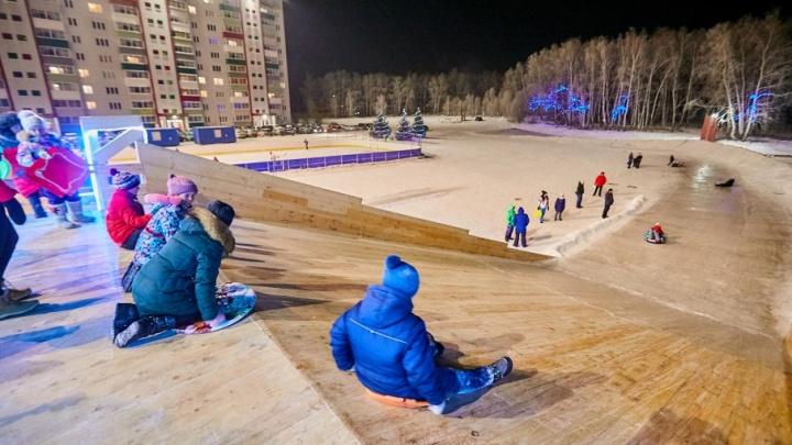 Всем спорт: в «Вишневой горке» открылся «Центр отдыха и спорта»