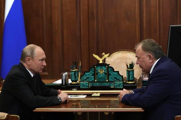 О новом назначении Калиматов официально узнал от президента