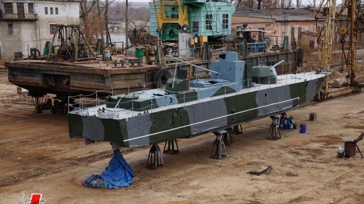 В Волгограде показали отреставрированный БК-31 перед последним походом на Центральную набережную