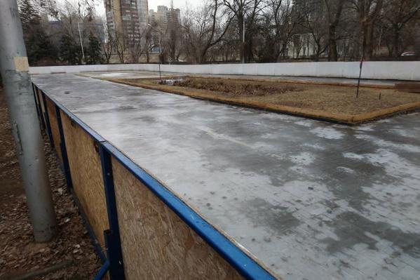 Лед естественной заморозки не выдержал январской оттепели