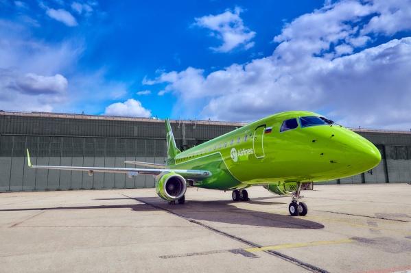 Рейсы из самарского аэропорта отправляют дважды в неделю