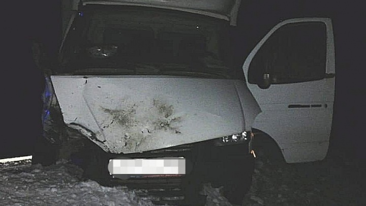 Два человека попали в реанимацию после столкновения ВАЗ-2114 с грузовиком в Башкирии