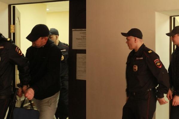 Областной суд смягчил наказание Раилю Шитову (слева) и Александру Питимирову (справа)
