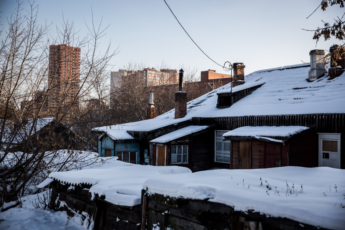 Бараки на нечётной стороне улицы в список не попали —вместо них там в основном крепкие отремонтированные дома