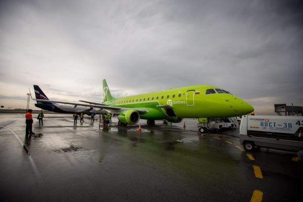 Embraer 170-LR в «Толмачёво»