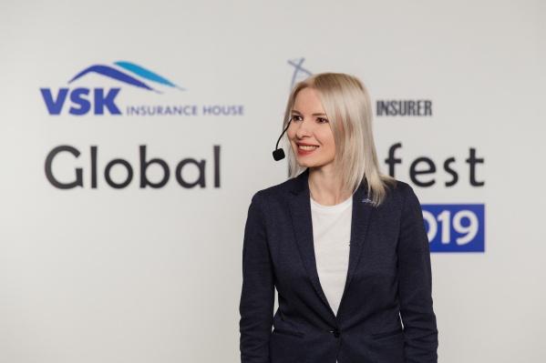 В финале конкурса компанию представляла заместитель генерального директора по развитию бизнеса ВСКОльга Сорокина