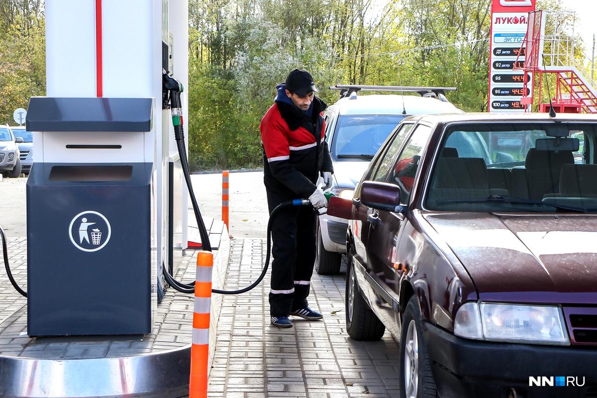 На АЗС«Лукойл» заявили, что топливный бак не всегда корректно отображает уровень бензина