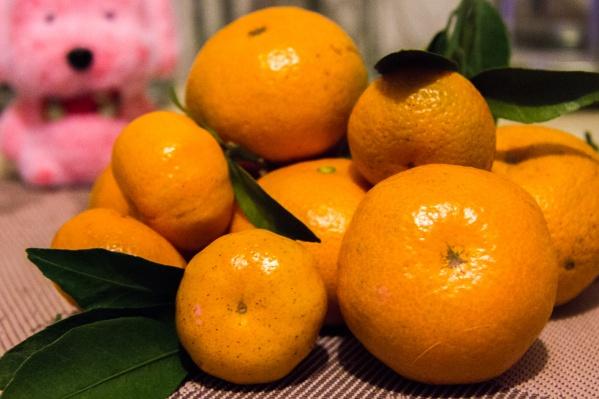 Жители Новосибирской области купили почти 400 тонн мандаринов