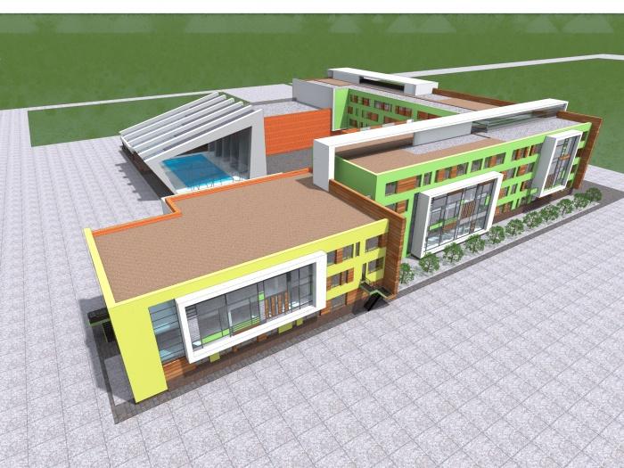 Образовательный центр будет разделен на три зоны
