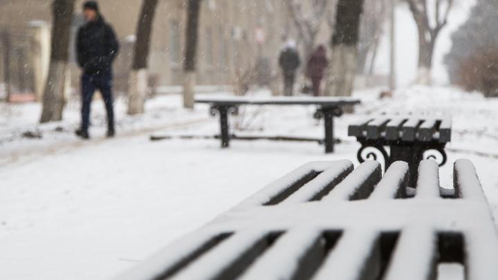 Первые снегопады и сильные морозы: в Волгоградской области похолодает до -15