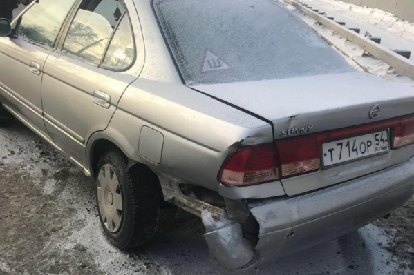 Машину вместе с трупом сибирячки обнаружили утром на Бугринском мосту