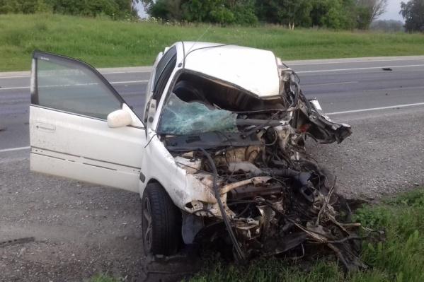 В ГИБДД сообщили, что на трассе произошло лобовое ДТП